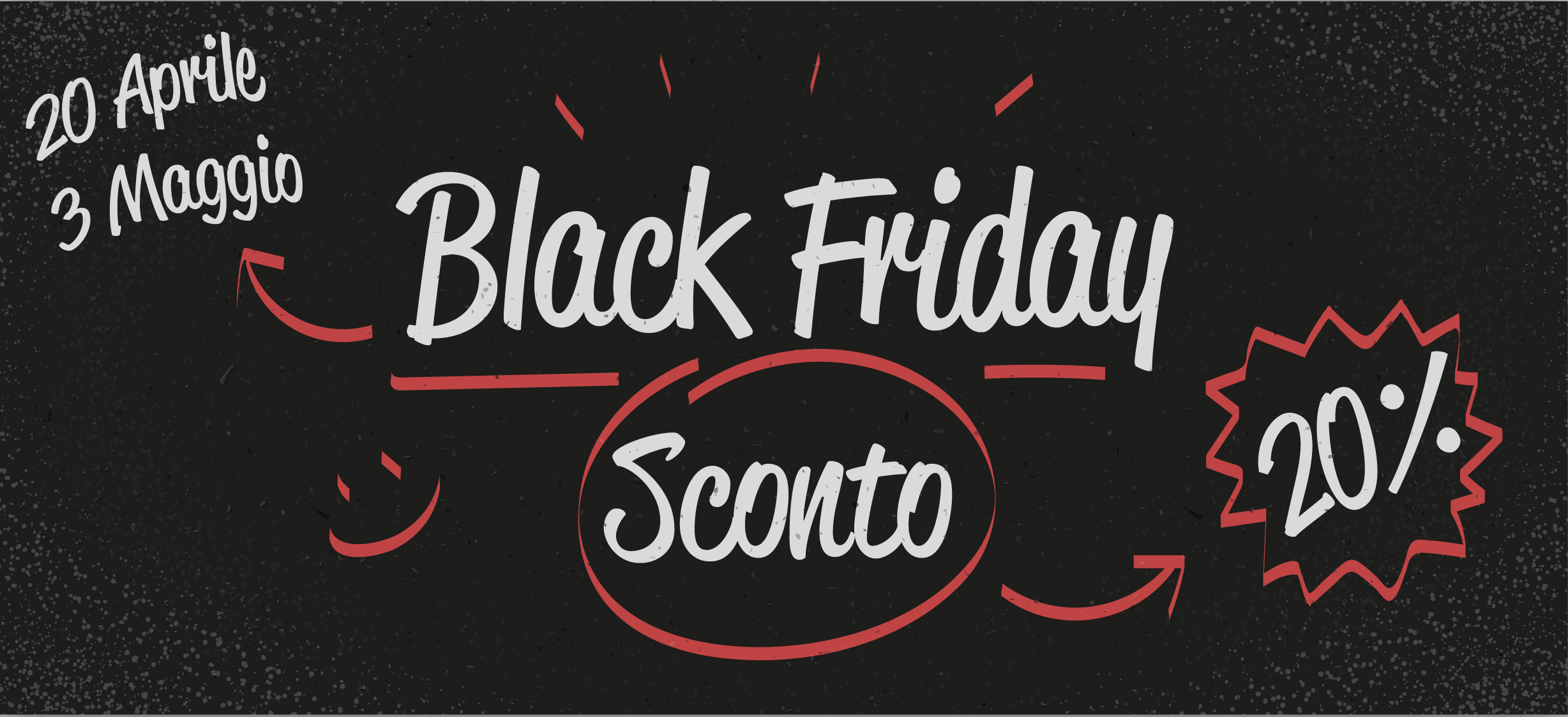 Black Friday Primaverile 2017