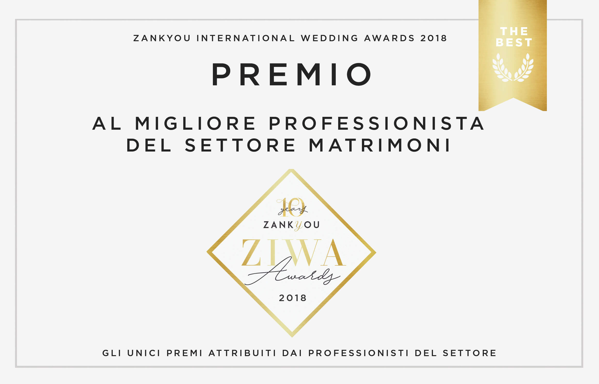Premio ZIWA The Quartet