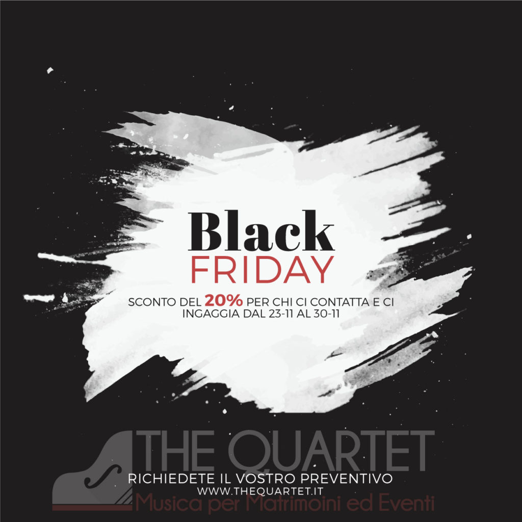 black friday 2018 The Quartet